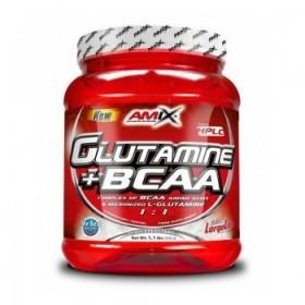 GLUTAMINA + BCAA 530 GR- amix