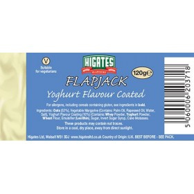 Flap jack 120 gr-  yogur