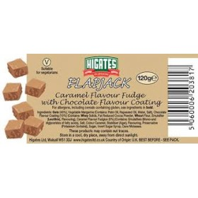 Flap jack 120gr Caramel Fudge