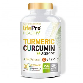 Tumeric Curcuma + Bioperine...